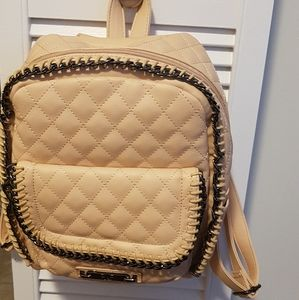 Versace 19 69 quilted  camila nude backpack